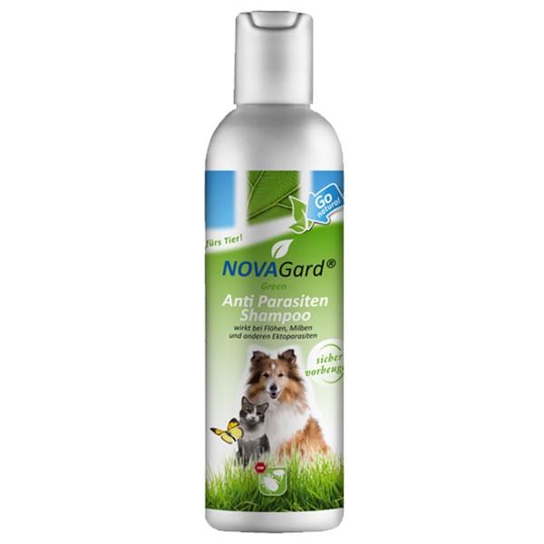 NovaGard Green Anti-Parasiten Shampoo für Hunde und Katzen 200 ml