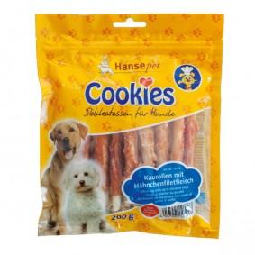 Hansepet Cookies Delikatess kuřecí filet na žvýkací rolce, 6 × 200g