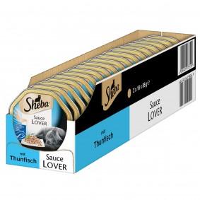 Sheba Katzenfutter Sauce Lover Thunfisch (MSC)