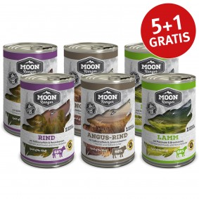 Moon Ranger Probierpaket Single Protein 6x400g
