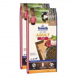 Bosch Hundefutter verschiedene Sorten 2x15kg