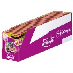 Whiskas Junior mit Geflügel in Sauce 24x100g