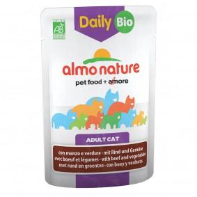 Almo Nature Daily Menu BIO Cat mit Rind und Gemüse