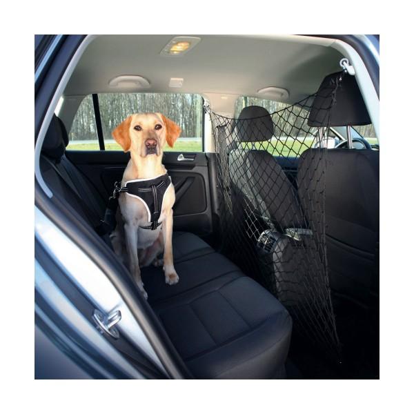 Trixie Auto-Schutznetz aus Nylon in schwarz