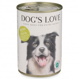 Dog's Love Futter Bio Huhn mit Buchweizen, Sellerie & Basilikum
