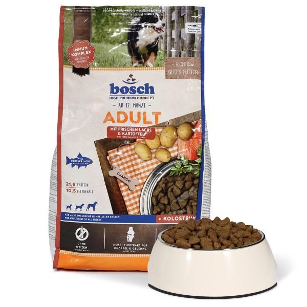 Bosch Hundefutter Adult Lachs & Kartoffel