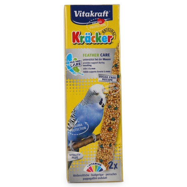 Vitakraft Kräcker Feather Care 2er Sittich