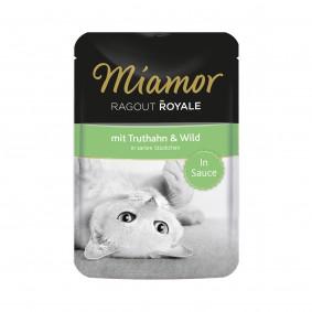 Miamor Ragout Royale in Sauce Truthahn und Wild