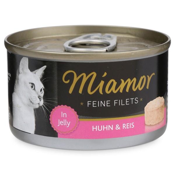 Miamor Katzenfutter Feine Filets in Jelly Huhn und Reis