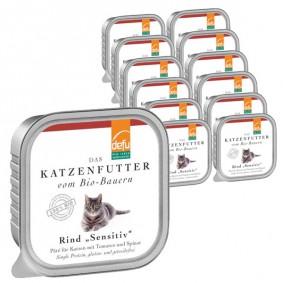 Schipkau Hörlitz Angebote DEFU Defu Katzenfutter Bio Rind Gluten- & Getreidefrei - 16 x 100g