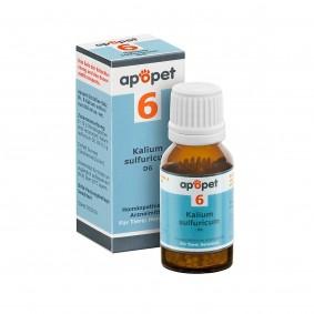 apopet Schüßler Salz Nr. 6 Kalium sulfuricum D6