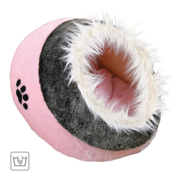 Trixie Kuschelhöhle Minou rosa/grau
