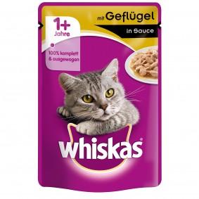 Whiskas Adult 1+ mit Geflügel in Sauce