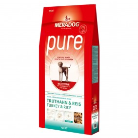 Mera Dog pure Truthahn und Reis