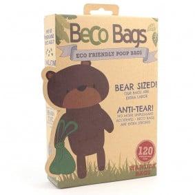 BecoPets BecoBags sáčky na exkrementy, 120 kusů
