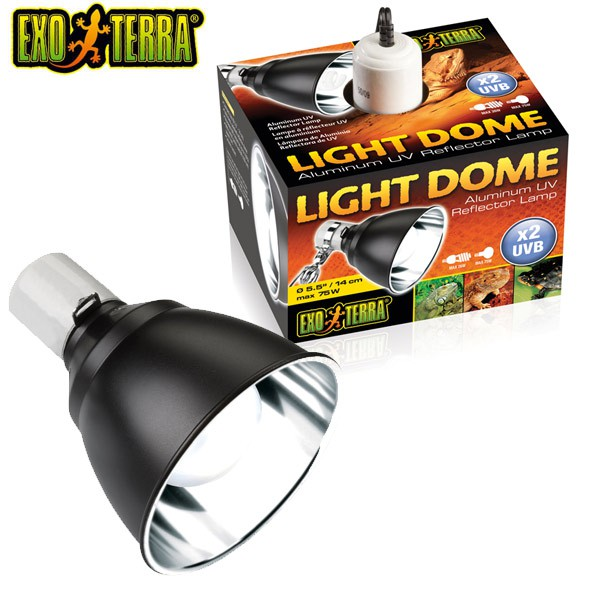 Exo Terra Light Dome UV-Reflektorlampe