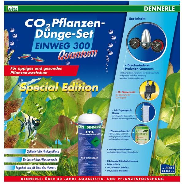Dennerle CO2 Anlage EINWEG 300 QUANTUM Special Edition