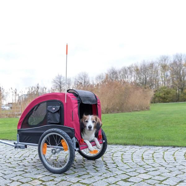 Trixie Fahrradanhänger 63x68x75 (137)cm