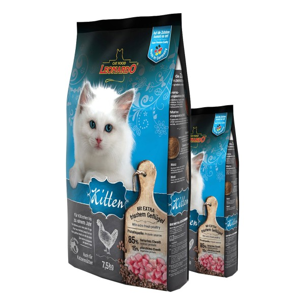 Leonardo Kitten 7,5kg + 400g Beutel