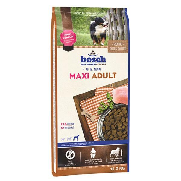 Bosch Hundefutter Maxi Adult - 15kg