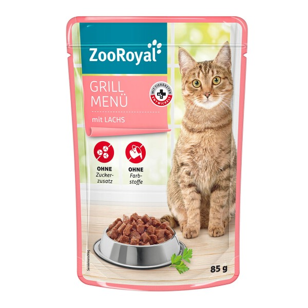 ZooRoyal Grill Menü mit Lachs