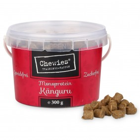 Chewies Hundesnack Trainings-Happen Känguru 300g