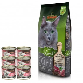 Leonardo Adult Lamb 7,5kg + Premium Geflügel pur 6x200g gratis
