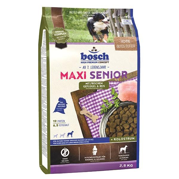 Bosch Hundefutter Maxi Senior Geflügel & Reis