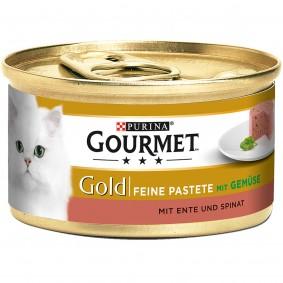 Gourmet Gold Feine Pastete Ente&Spinat