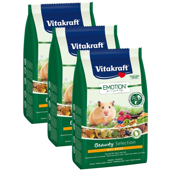 Vitakraft Emotion Beauty Selection Hamster 3x600g