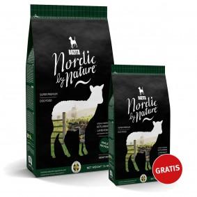 Bozita Nordic By Nature Gotlandian Lamb roast 7,5kg plus 1,7kg gratis