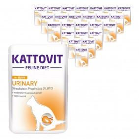 Kattovit Katzen-Nassfutter Urinary Huhn 24x85g