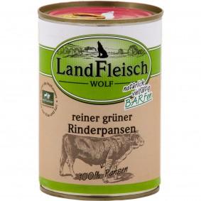 Landfleisch Dog Hundefutter Wolf Rinderpansen
