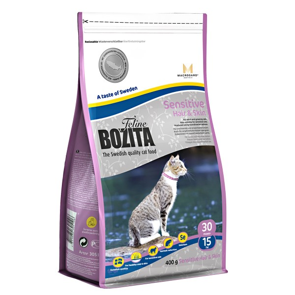Bozita Feline Hair & Skin-Sensitive