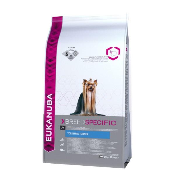 Eukanuba Hundefutter Erwachsene Yorkshire Terrier Huhn - 2kg