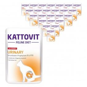 Kattovit Katzen-Nassfutter Urinary Kalb 24x85g