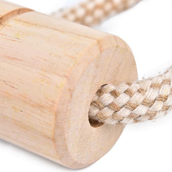 Earthy Pawz Holz Hundespielzeug Tau