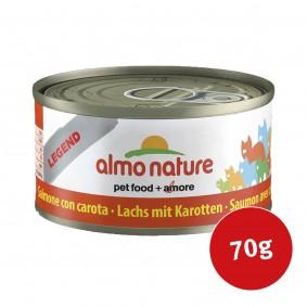 Almo Nature Katzenfutter Legend Lachs mit Karotte