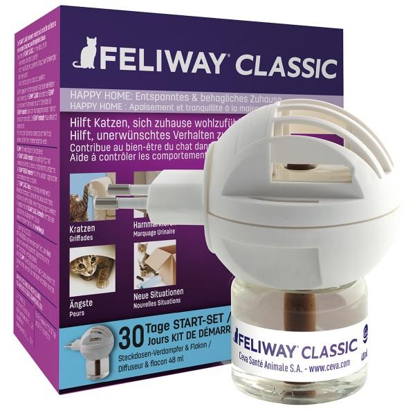 Feliway® Classic Verdampfer Happy Home Start-Set 48ml
