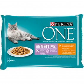Purina ONE Sensitive mit Huhn und Karotten