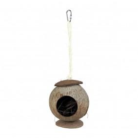 Cabane pour hamster en noix de coco ø 13x 22 cm