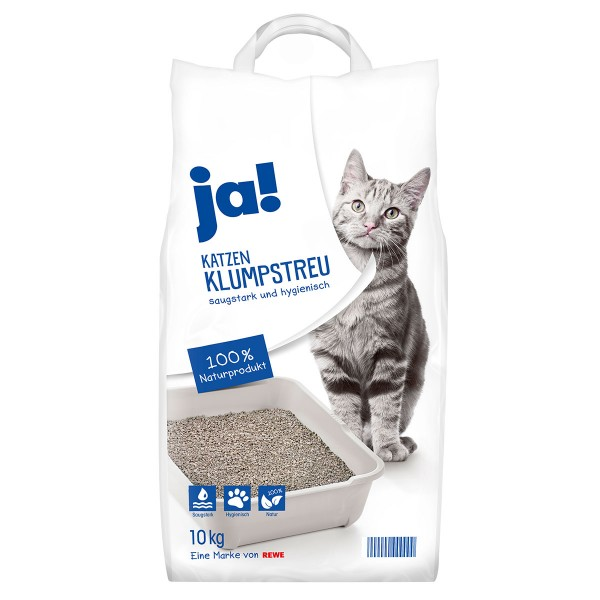 ja! Katzen Klumpstreu 10kg