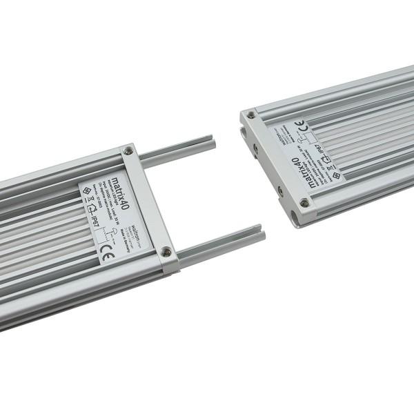Daytime LED-Profil Grundträgerplatte