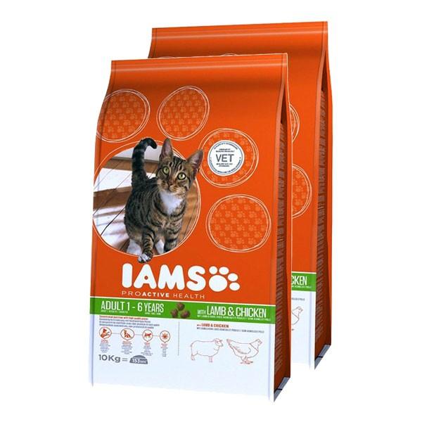 IAMS Katzenfutter Trockenfutter Adult 2x15kg