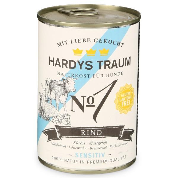 Hardys Traum Hundefutter Sensitiv No. 1 Rind