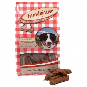 Hundejause Hundesnack Bio JausenSalamis 150g