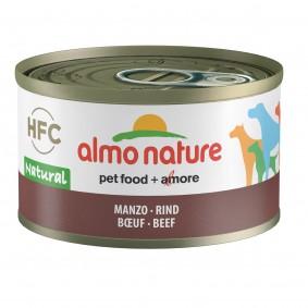 Almo Nature HFC Natural Dog Rind 95g 5+1 gratis