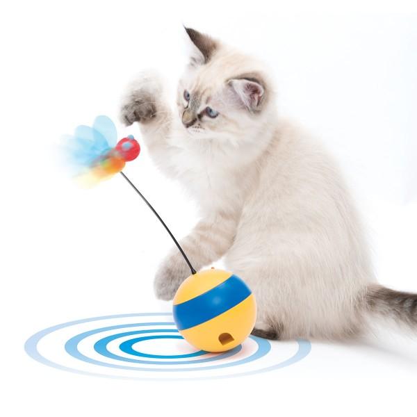 Catit Play Tumbler Bee Laser-Spielzeug