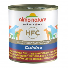 Almo Nature HFC Cuisine Dog Rind mit Kartoffeln und Erbsen