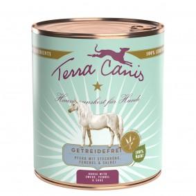 Terra Canis getreidefrei Pferd mit Steckrübe, Fenchel & Salbei